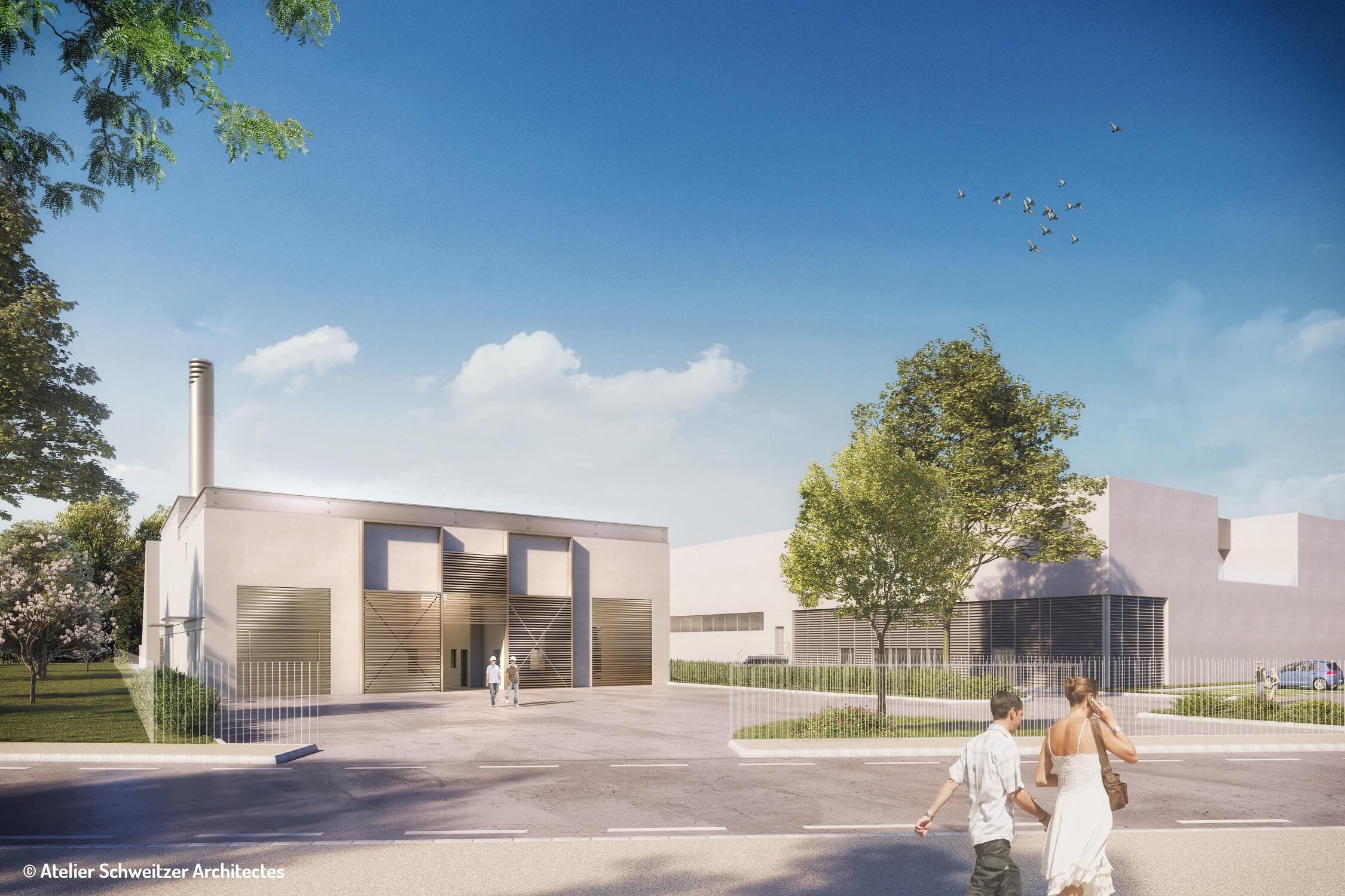 Chaufferie biomasse de Mérignac Centre