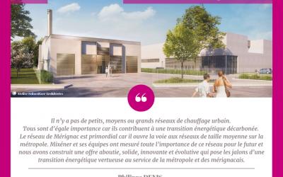 Mixéner devient concessionnaire du nouveau réseau de chaleur de Mérignac Centre !