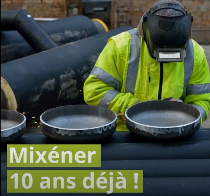 Vidéo Mixéner 10 ans